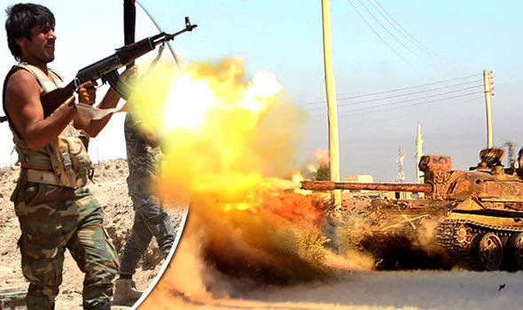 Las tropas turcas respaldados por comandos estadounidenses están a sólo tres millas de Dabiq