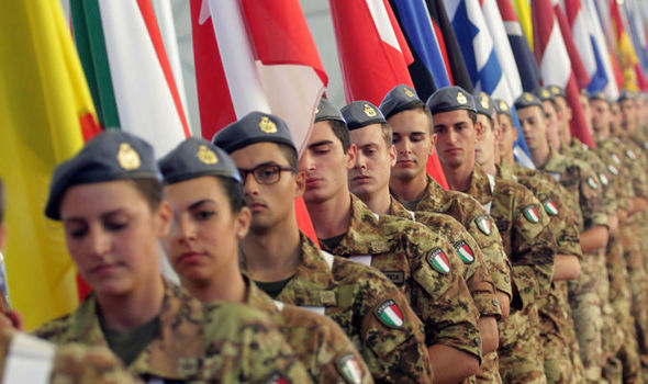 Italian soldiers