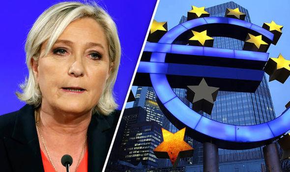 marine le pen eurozone