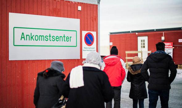 centro de asilo de Noruega