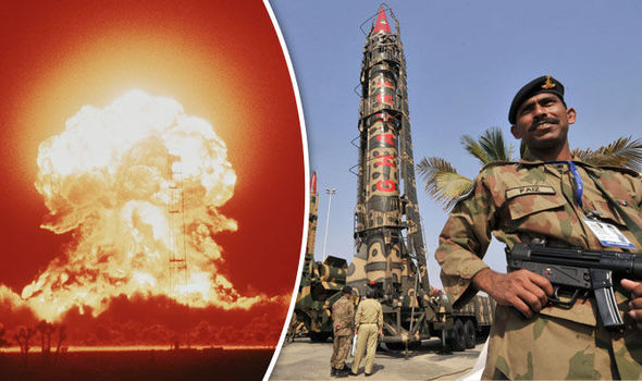 nuclear Pakistan India war missile