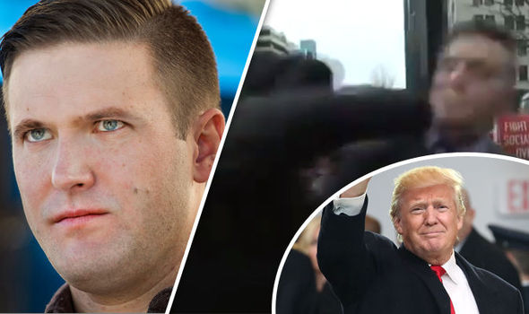 richard spencer trump punch