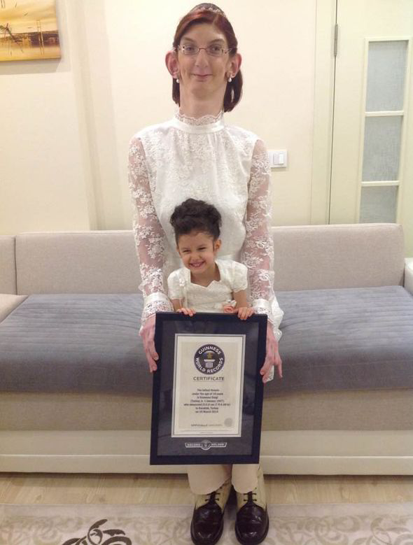 Rumeysa Gelgi Has Been Named The Tallest Female Teenager In World PH