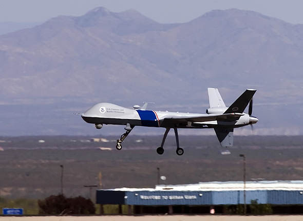 A stock image of a US drone