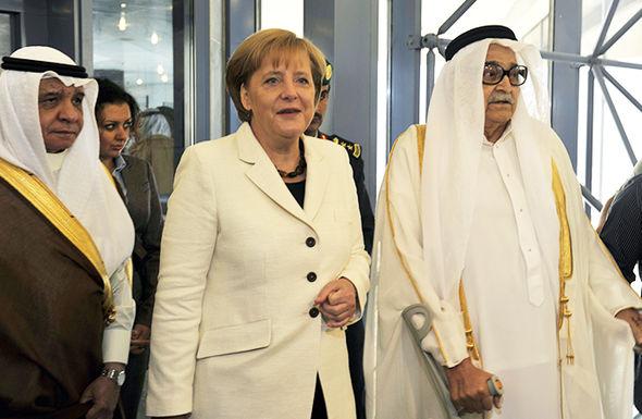 Angela Merkel no hijab
