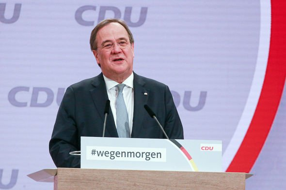 Armin Laschet: The new CDU leader has been described as a Russophile