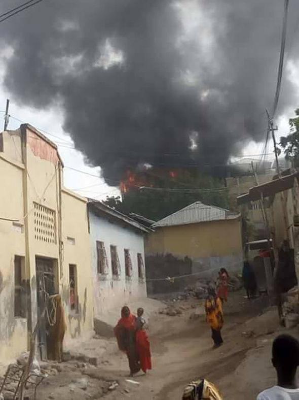 Hotel bombed