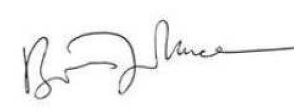 Boris Johnson siganture