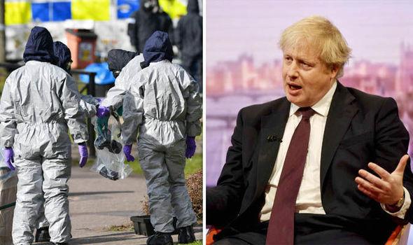 Boris is batting for Britain in Skripal dispute