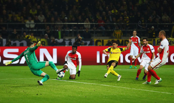 Borussia Dortmund take on Monaco