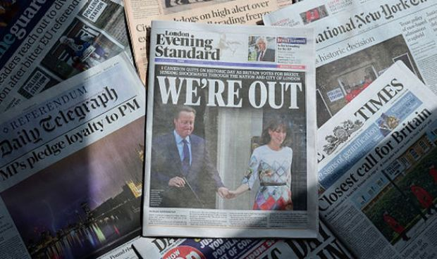 Brexit newspaper