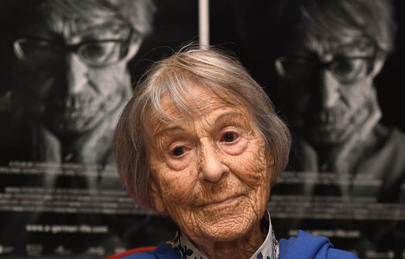 Brunhilde Pomsel at cinema