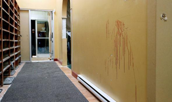 Canada mosque massacre photos blood