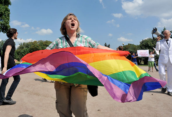 "Russian LGBT Network said it was ""highly disturbed"" by the reports"