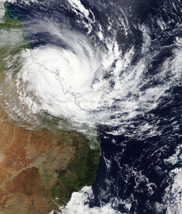 Strong winds in Queensland