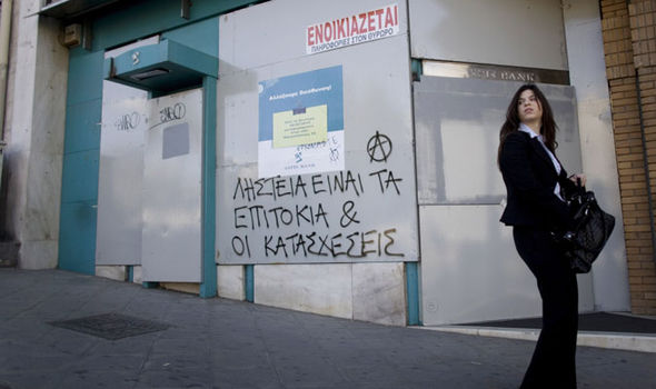 Greeks are furious about the debt