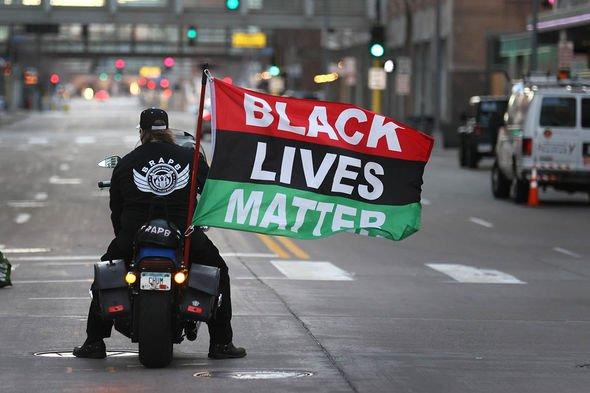 Derek Chauvin trial: BLM protesters
