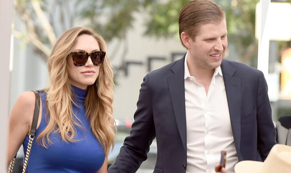 Eric Trump and his wife