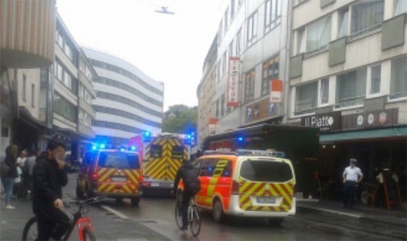 Dusseldorf stabbing: Man stabbed to death in shops