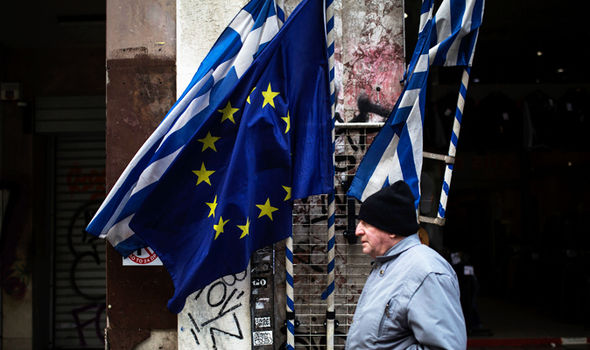 Greece wants a bail out