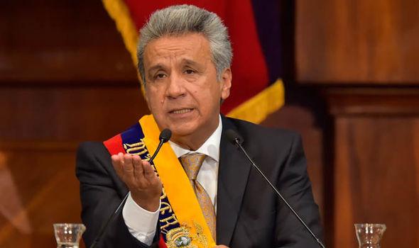 Ecuador President Lenin Moreno