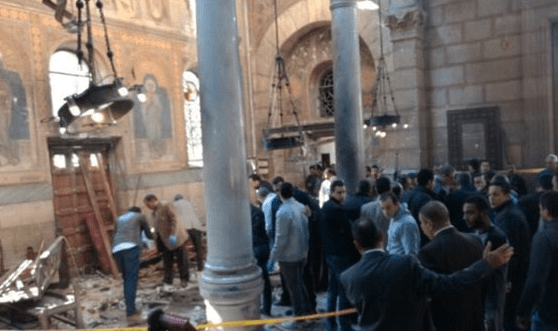 Egypt church bombing