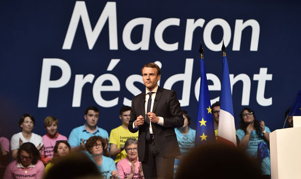 Emmanuel Macron French election Obama Merkel   Pro-EU candidate Macron gets backing of Merkel and Obama | World | News Emmanuel Macron French election Obama Merkel 907795