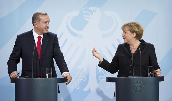 Erdogan and Merkel
