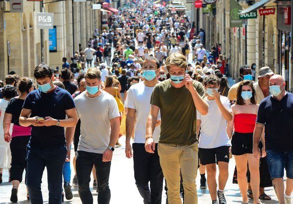 Face masks are now mandatory everywhere in France