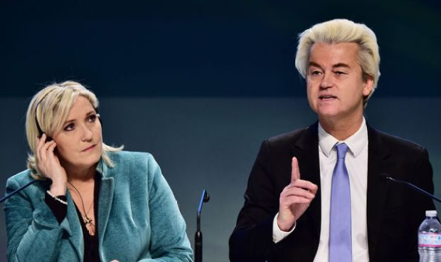 France's Le Pen and Geert Wilders