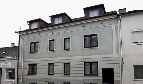 Fritzl's house where Elisabeth was kept a prisoner