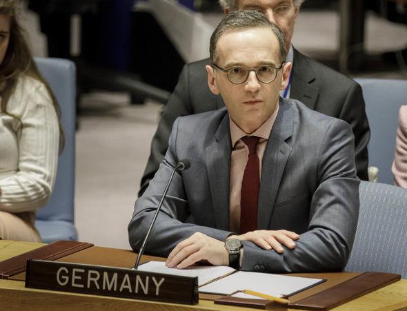 German Foreign Minister Heiko Mass