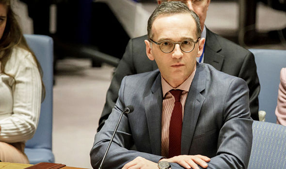 Germany's Minister of Foreign Affairs Heiko Maas