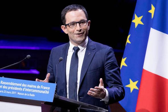 Hard-leftist Benoît Hamon