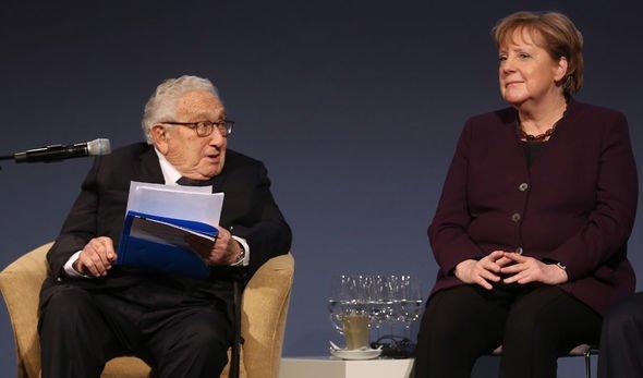 Henry Kissenger Angela Merkel