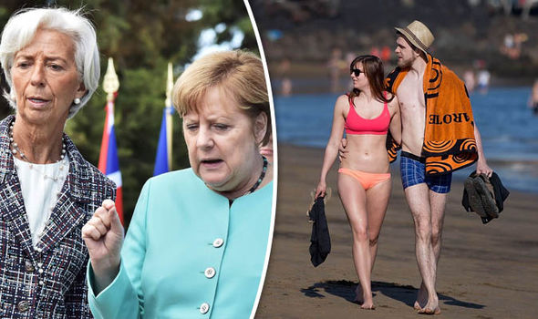 Holidaymakers could help struggling European economies