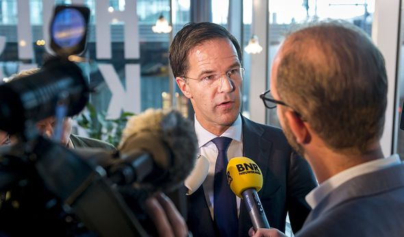 Mark Rutte is facing a backlash over his policies and his coalition