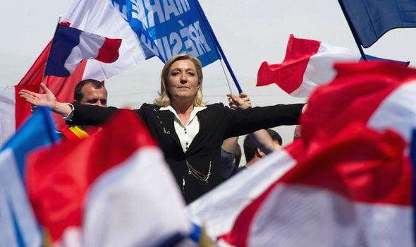 Hollande Melenchon Le Pen french election