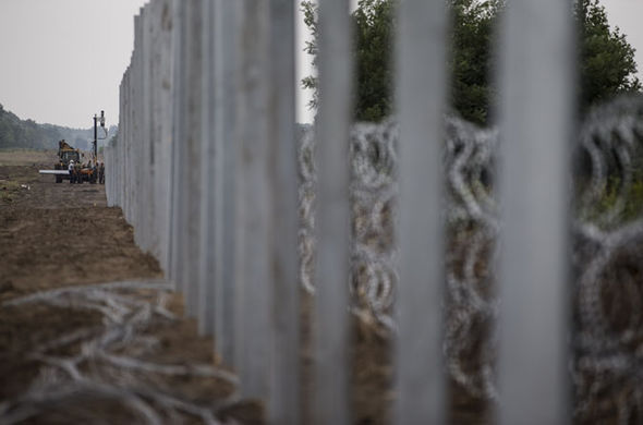 Hungary fence