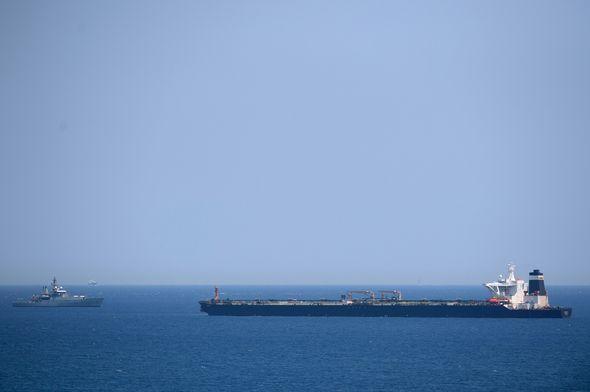 Iran oil ship