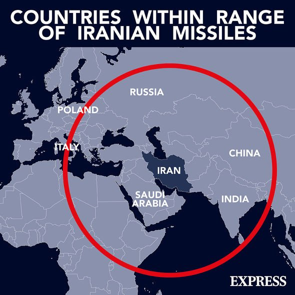 Iranian missiles: The Islamic Republic's missiles could reach Central Europe, it is believed
