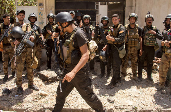 Iraq forces prepare themselves to attack ISIS