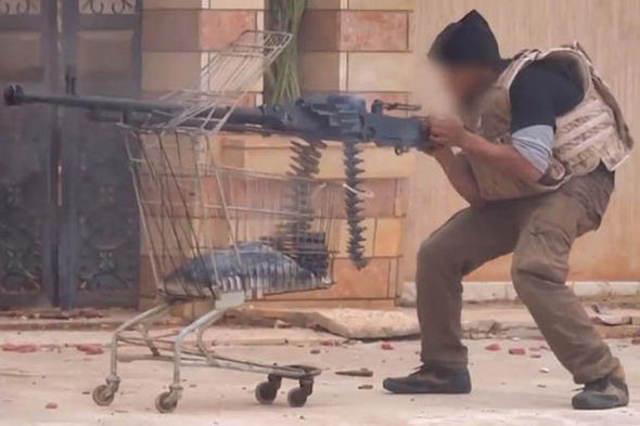 ISIS are using anything they can get their hands on