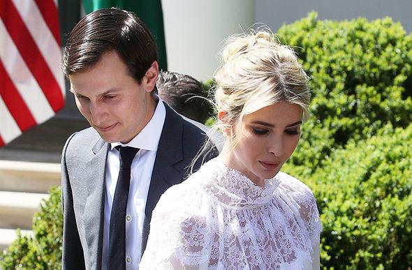 Ivanka is married to Jared Kushner
