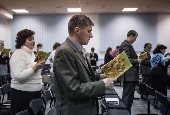It is thought there are around 175,000 Jehovah's Witnesses in Russia