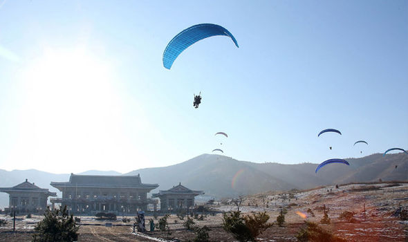 Last year, North Korean troops carried out mock attacks of South Korean landmarks