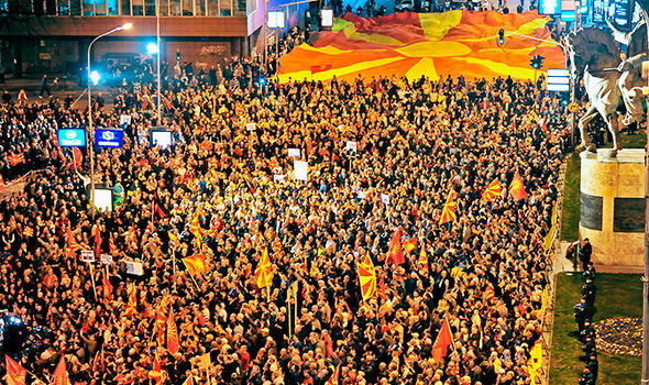 Macedonia has been locked in a political stalemate