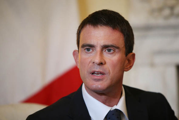 Manuel Valls speaking