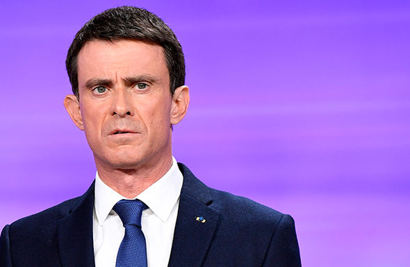 Manuel Valls, the former French PM who also hopes to stand condemned Fillon