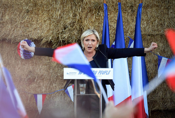 Some polls suggest Ms Le Pen will win the first round